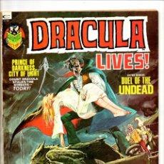 Cómics: DRACULA LIVES 3 - MARVEL MAGAZINE 1973 - VG/FN. Lote 103224943