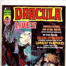 Cómics: DRACULA LIVES 5 - MARVEL MAGAZINE 1974 - FN/VFN. Lote 103225155