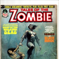 Cómics: TALES OF THE ZOMBIE 1 - MARVEL MAGAZINE 1973 - VG-. Lote 103236895