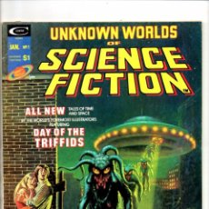 Cómics: UNKNOWN WORLDS OF SCIENCE FICTION 1 - MARVEL MAGAZINE 1975 - VFN. Lote 103237283