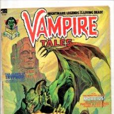 Cómics: VAMPIRE TALES 2 - MARVEL MAGAZINE 1973 VG - MORBIUS / 1ST SATANA. Lote 103237627