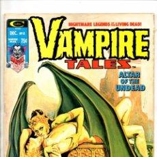 Cómics: VAMPIRE TALES 8 - MARVEL MAGAZINE 1974 VG - MORBIUS / 1ST BLADE SOLO STORY. Lote 103237827