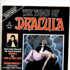 Cómics: TOMB OF DRACULA 1 2 3 4 5 6 COMPLETA - MARVEL MAGAZINE 1979 FN/VFN. Lote 103238523