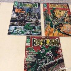 Cómics: RAGMAN COMIC BOOK Nº 1,6,7 COMICS USA DC. Lote 103217671