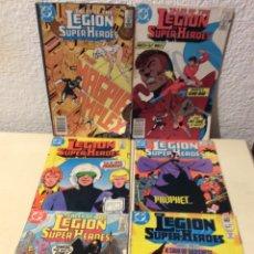 Cómics: LEGION OF SUPER-HEROES COMIC BOOK LOTE Nº 291,309,312,319,320,322, COMICS USA DC. Lote 103221815