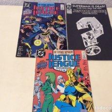 Cómics: JUSTICE LEAGUE OF AMERICA COMIC BOOK LOTE Nº 31,32,71 COMICS USA DC. Lote 103223779