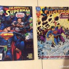 Cómics: ADVENTURES OF SUPERMAN COMIC BOOK Nº 508 Y 566 COMICS USA DC. Lote 103443263