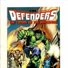 Cómics: COMING OF THE DEFENDERS 1 - MARVEL 2012 - NM REPRINTS MARVEL FEATURE 1 2 3. Lote 103758071