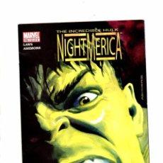 Cómics: INCREDIBLE HULK NIGHTMERICA 2 - MARVEL 2005 VFN. Lote 103759095
