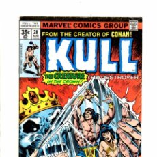 Cómics: KULL THE DESTROYER 28 - MARVEL 1978 FN. Lote 103759891