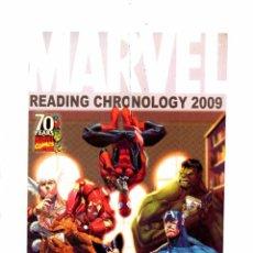 Cómics: MARVEL READING CHRONOLOGY - MARVEL 2009 VFN/NM. Lote 103760051