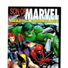 Cómics: SON OF MARVEL READING CHRONOLOGY - MARVEL 2009 VFN. Lote 103760159