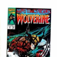 Cómics: MARVEL COMICS PRESENTS 99 - MARVEL 1990 VFN/NM WOLVERINE. Lote 103760615