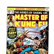 Cómics: MASTER OF KUNG FU 39 - MARVEL 1976 VFN-. Lote 103760815