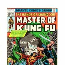 Cómics: MASTER OF KUNG FU 60 - MARVEL 1978 FN-. Lote 103760959