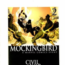 Cómics: MOCKINGBIRD 2 - MARVEL 2016 NM VARIANT COVER. Lote 103761543