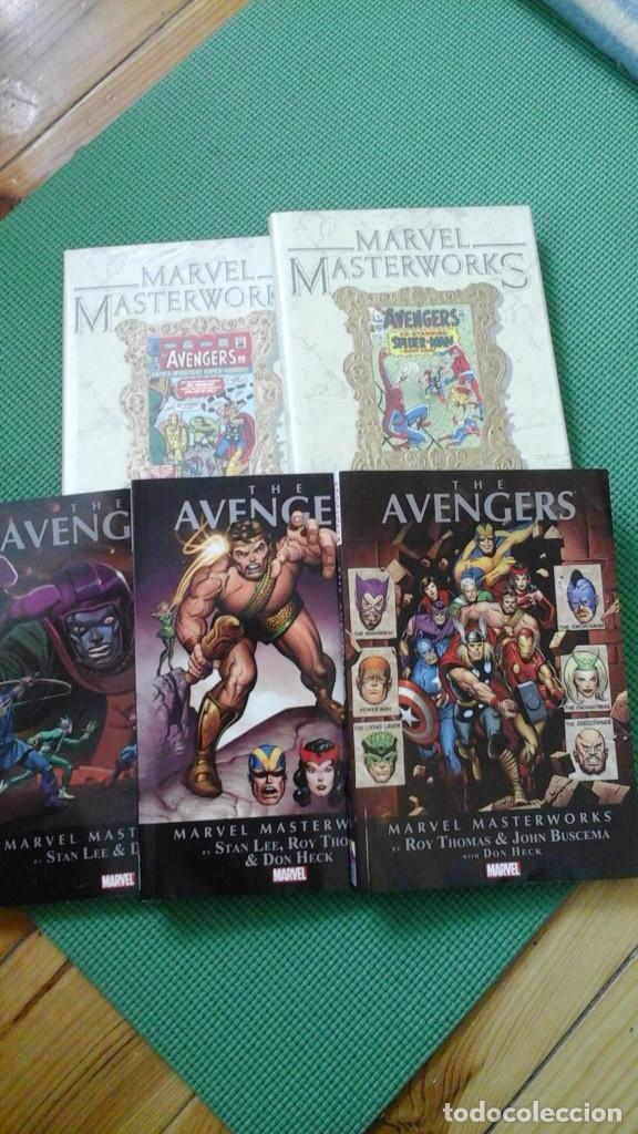 VENGADORES - AVENGERS MASTERWORKS 5 PRIMEROS TOMOS D2 (Tebeos y Comics - Comics Lengua Extranjera - Comics USA)