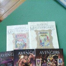 Cómics: VENGADORES - AVENGERS MASTERWORKS 5 PRIMEROS TOMOS D2. Lote 104067635