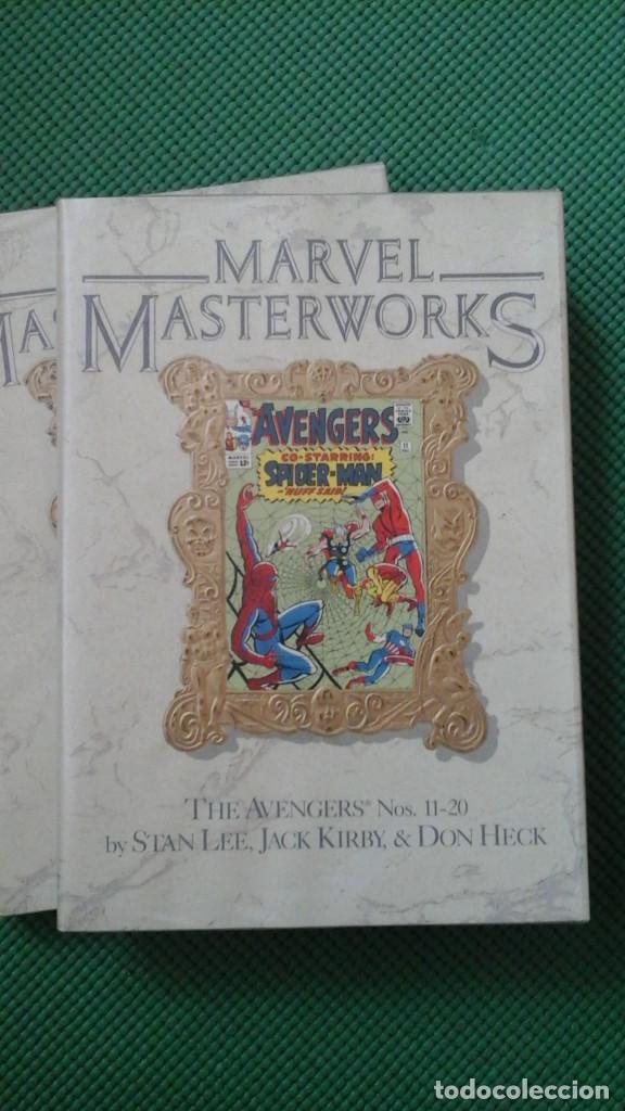 Cómics: VENGADORES - AVENGERS MASTERWORKS 5 PRIMEROS TOMOS D2 - Foto 3 - 104067635