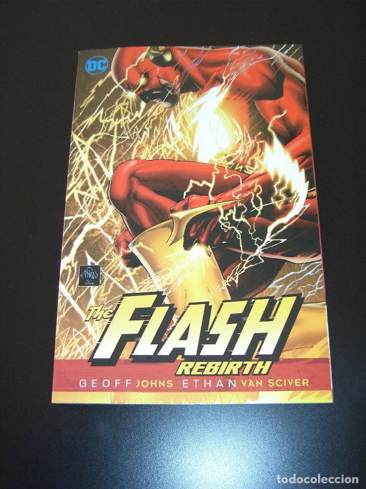 FLASH REBIRTH TPB - GEOFF JOHNS - ETHAN VAN SCIVER - INGLÉS (Tebeos y Comics - Comics Lengua Extranjera - Comics USA)