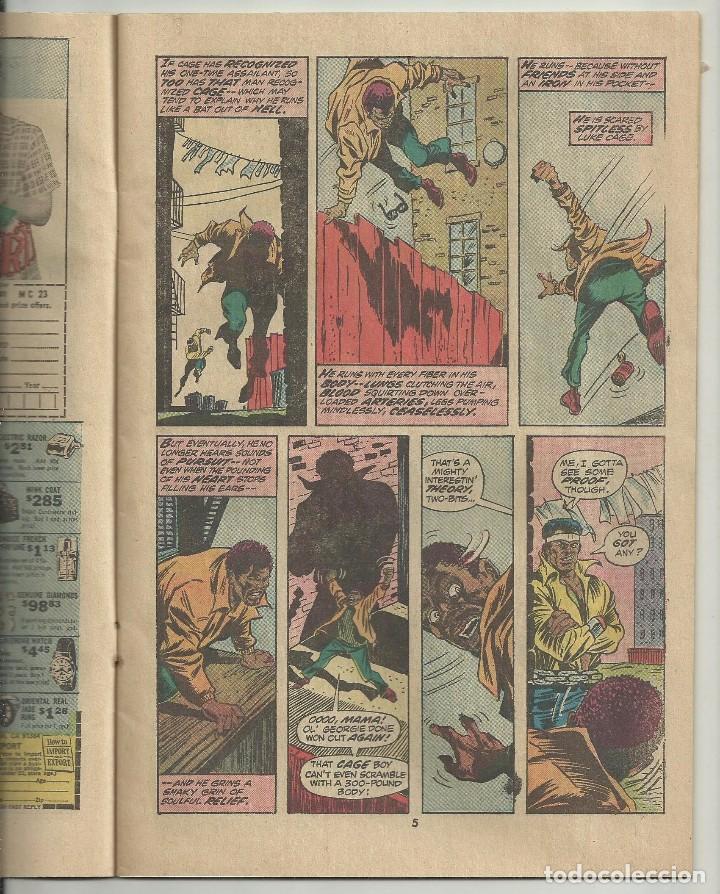 Cómics: LUKE CAGE, HERO FOR HIRE, Nº 8 STEVE ENGLEHART Y GEORGE TUSKA. MARVEL COMICS, 1972. USA - Foto 3 - 104649123