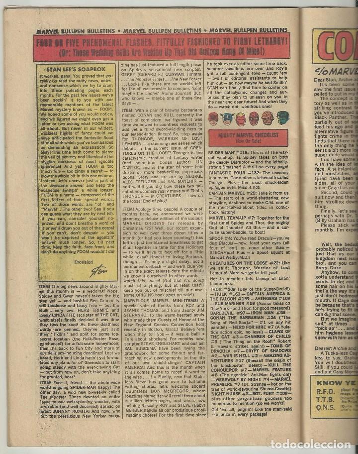 Cómics: LUKE CAGE, HERO FOR HIRE, Nº 8 STEVE ENGLEHART Y GEORGE TUSKA. MARVEL COMICS, 1972. USA - Foto 4 - 104649123