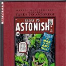 Cómics: MARVEL MASTERWORKS. TALES TO ASTONISH 31 AL 51-54. Lote 105189419