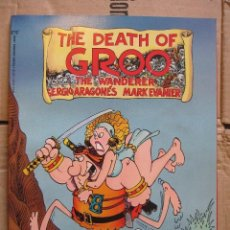 Cómics: THE DEATH OF GROO . MARVEL GRAPHIC NOVEL. EPIC COMICS.. Lote 210534467