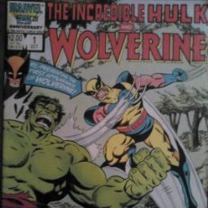 Cómics - The incredible Hulk and Wolverine 1 - 107035335