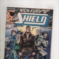 Cómics: NICK FURY AGENT OF SHIELD 1 - MARVEL 1989. Lote 107476275