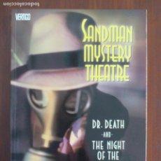 Cómics: SANDMAN MISTERY THEATRE EN INGLÉS DC COMICS TOMO Nº 5 MATT WAGNER. Lote 108036691