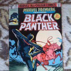 Cómics: MARVEL PREMIERE 53 - BLACK PANTHER. Lote 108048763