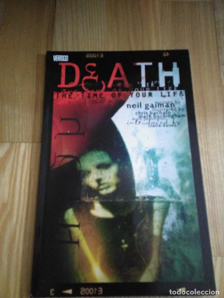 COMIC VERTIGO DC NEIL GAIMAN DEATH (Tebeos y Comics - Comics Lengua Extranjera - Comics USA)