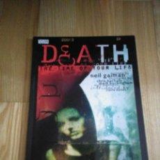 Cómics: COMIC VERTIGO DC NEIL GAIMAN DEATH. Lote 108364351