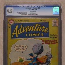 Cómics: ADVENTURE COMICS 231 - DC 1956 4.5 VG+ / SUPERBABY MEETS KYPTONITE / AQUAMAN / GREEN ARROW. Lote 109020235