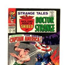 Cómics: STRANGE TALES 159 - MARVEL 1967 VFN+ 8.5 / NICK FURY VS CAPTAIN AMERICA / DOCTOR STRANGE / STERANKO. Lote 109023975