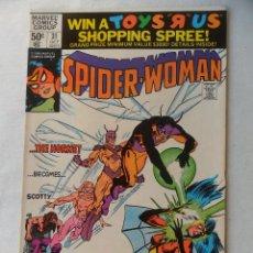 Cómics: SPIDER- WOMAN VOL. 1 Nº 31 - MARVEL 1980 EN INGLES . Lote 109481667