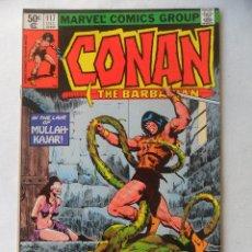 Cómics: CONAN THE BARBARIAN VOL. 1 Nº 117 - MARVEL 1980 EN INGLES . Lote 109482239