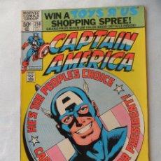 Cómics: CAPTAIN AMERICA VOL. 1 Nº 250 - MARVEL 1980 EN INGLES . Lote 109484935