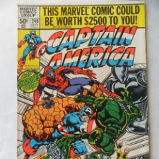 Cómics: CAPTAIN AMERICA VOL. 1 Nº 249 - MARVEL 1980 EN INGLES . Lote 109485071