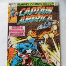 Cómics: CAPTAIN AMERICA VOL. 1 Nº 247 - MARVEL 1980 EN INGLES . Lote 109485163