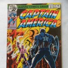 Cómics: CAPTAIN AMERICA VOL. 1 Nº 231 - MARVEL 1978 EN INGLES . Lote 109485407