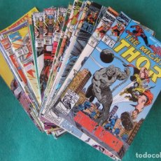 Cómics: THE MIGHTY THOR LOTE DE 39 NUMEROS ORIGINALES MARVEL U.S.A.. Lote 110185767