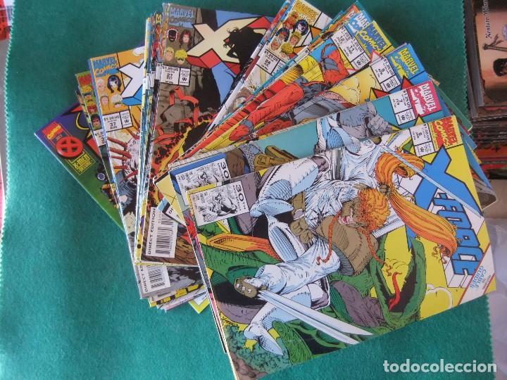X-FORCE LOTE DE 39 NUMEROS ORIGINALES MARVEL U.S.A. (Tebeos y Comics - Comics Lengua Extranjera - Comics USA)
