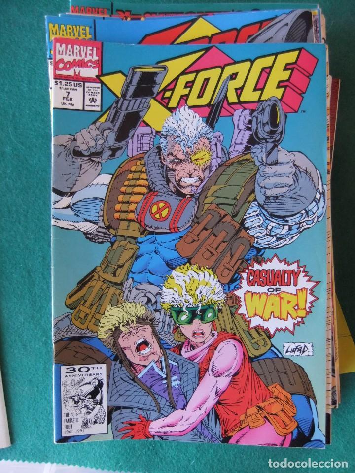 Cómics: X-FORCE LOTE DE 39 NUMEROS ORIGINALES MARVEL U.S.A. - Foto 3 - 110190819