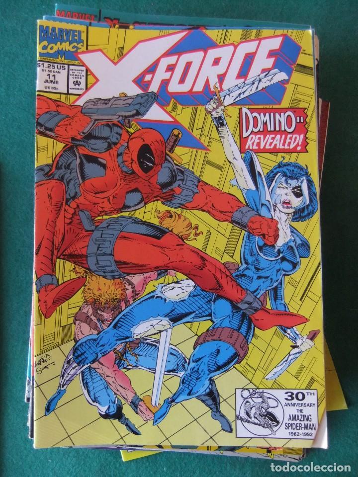 Cómics: X-FORCE LOTE DE 39 NUMEROS ORIGINALES MARVEL U.S.A. - Foto 7 - 110190819