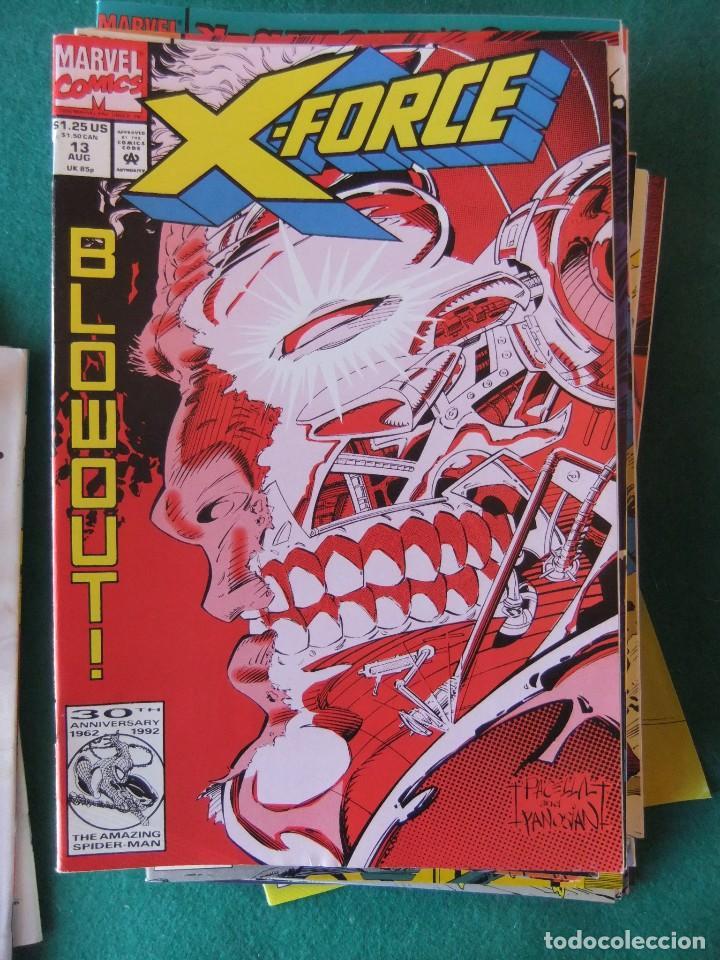 Cómics: X-FORCE LOTE DE 39 NUMEROS ORIGINALES MARVEL U.S.A. - Foto 9 - 110190819