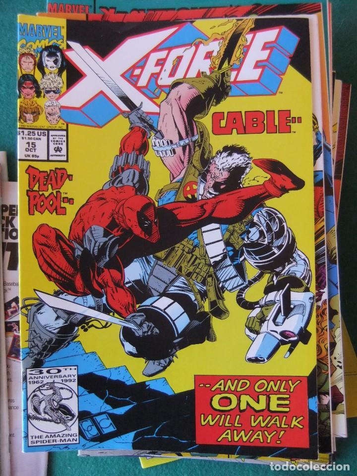 Cómics: X-FORCE LOTE DE 39 NUMEROS ORIGINALES MARVEL U.S.A. - Foto 11 - 110190819