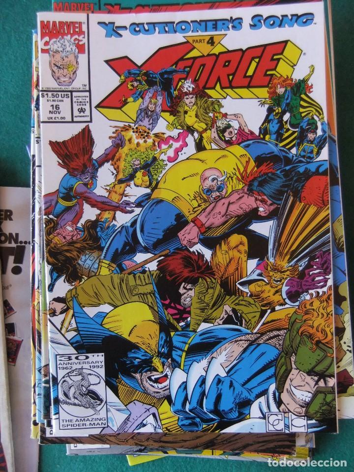 Cómics: X-FORCE LOTE DE 39 NUMEROS ORIGINALES MARVEL U.S.A. - Foto 12 - 110190819
