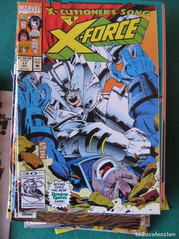 Cómics: X-FORCE LOTE DE 39 NUMEROS ORIGINALES MARVEL U.S.A. - Foto 13 - 110190819